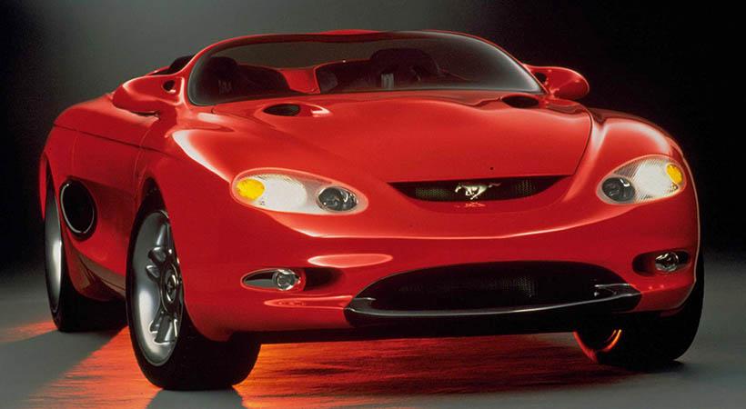 conceptos del Ford Mustang