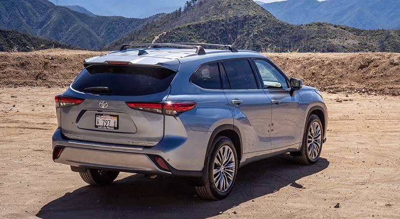 Toyota Highlander Platinum 2020
