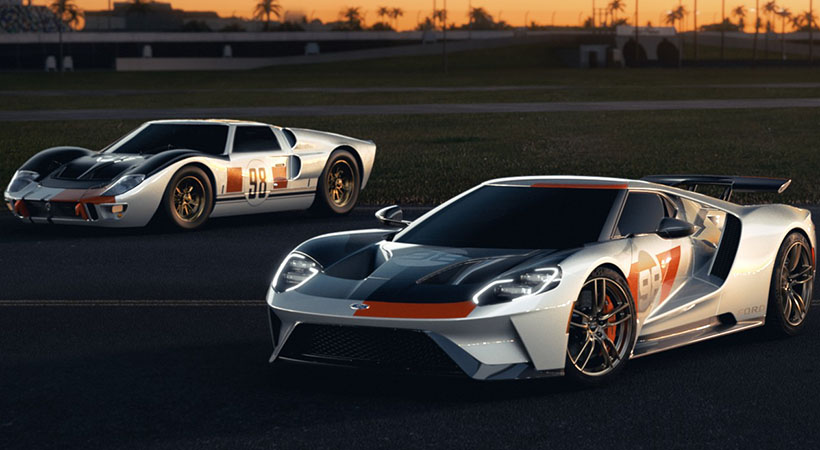 Ford GT Heritage Collection