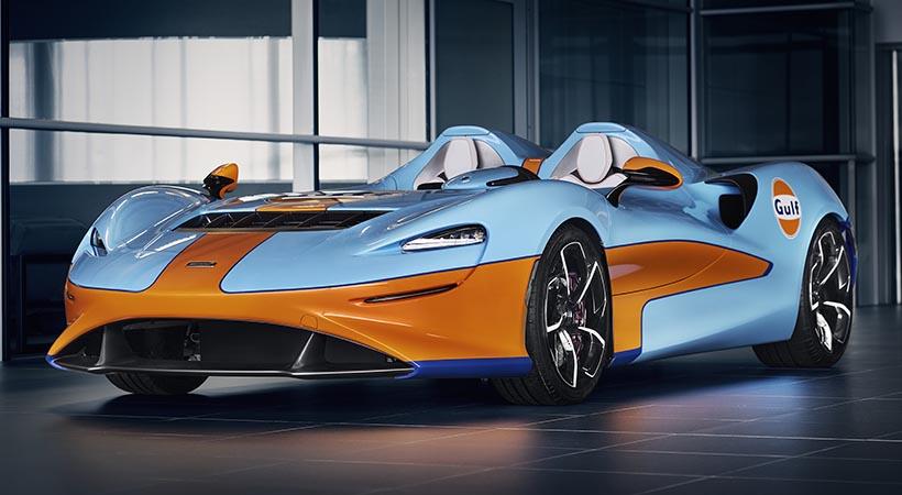 McLaren Elva Gulf Racing