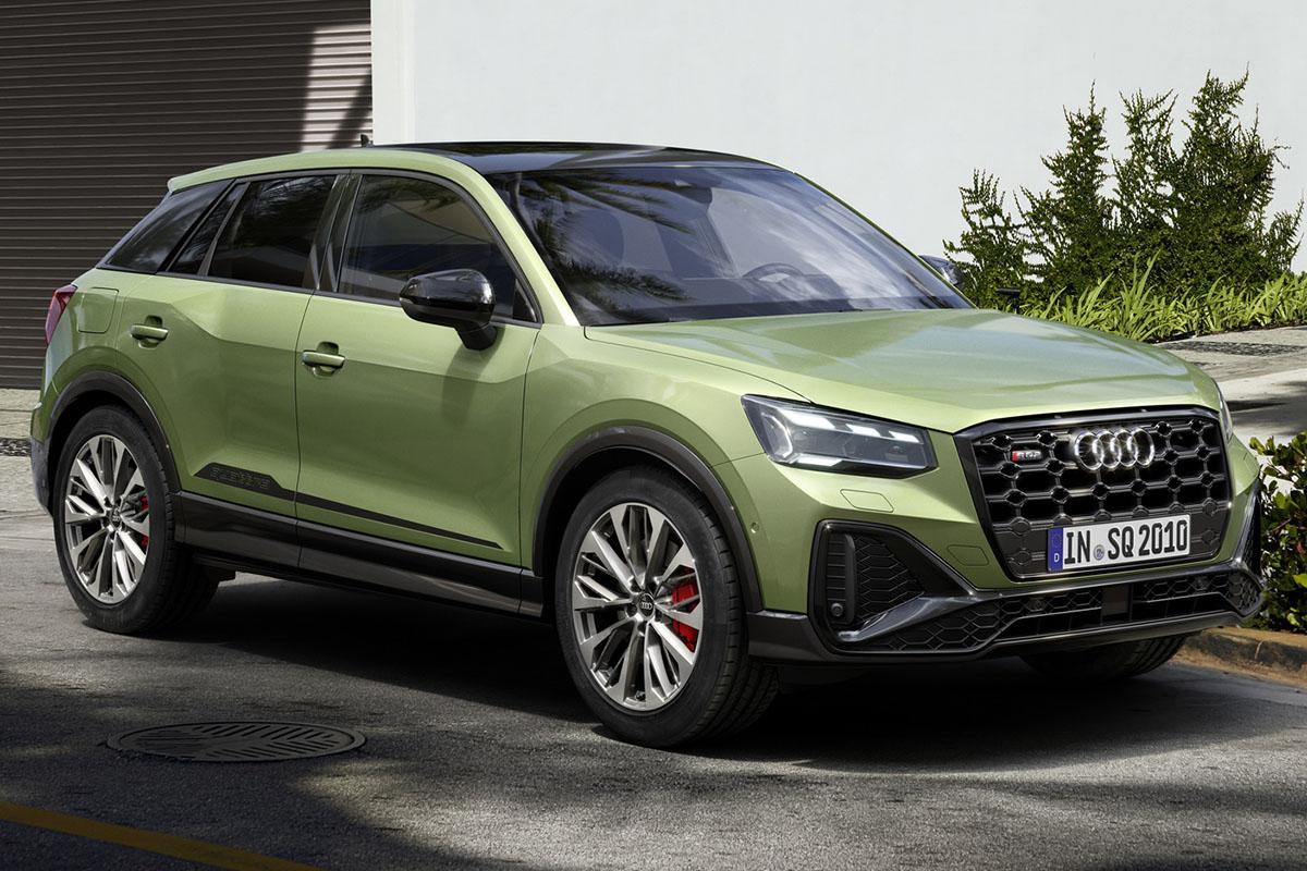 Audi SQ2 2021, nueva tecnología y estilo mejorado