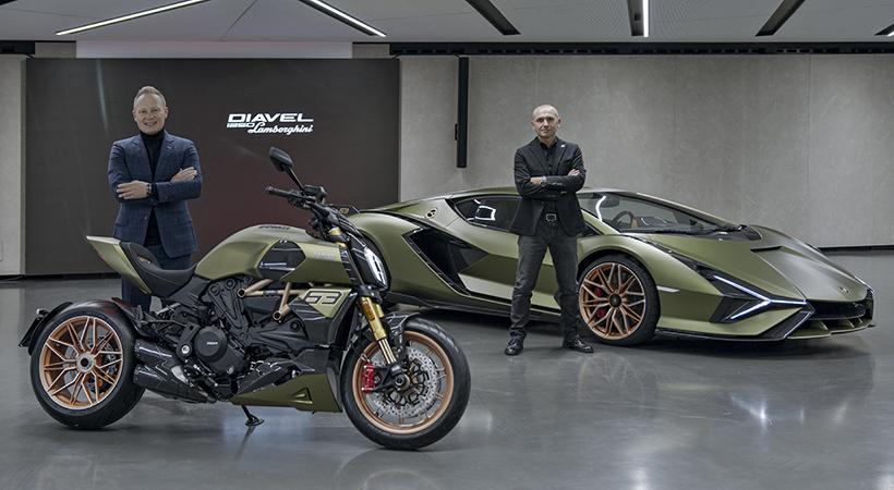 Ducati Diavel 1260 S Lamborghini