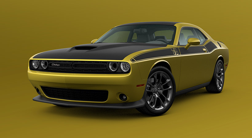 Dodge Challenger Gold Rush 2021