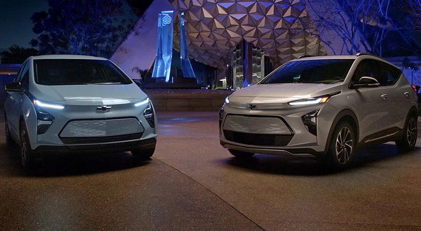 Chevrolet Bolt EV y Bolt EUV 2022