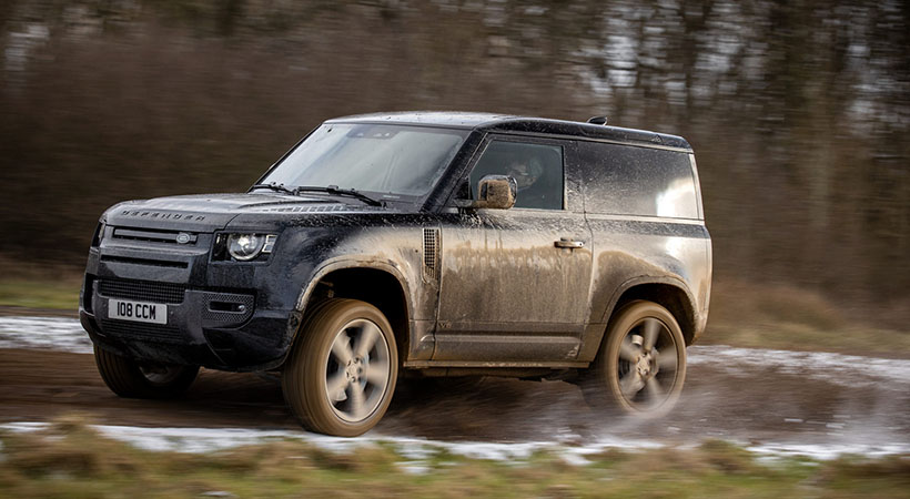 Land Rover Defender V8 2022