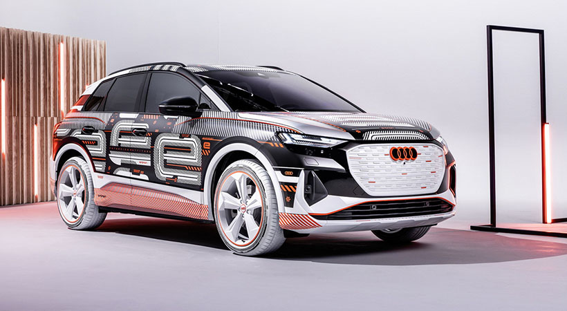 Audi Q4 e-Tron, Audi detendrá desarrollo de motores de combustión