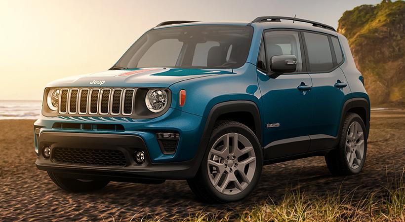 Jeep Wrangler y Renegade Islander Edition
