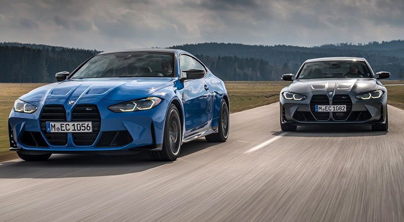 BMW M3 y M4 Competition xDrive