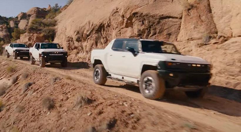Hummer EV en Moab