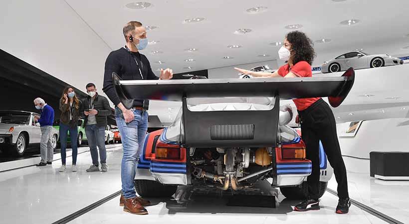 Museo Porsche reabre sus puertas