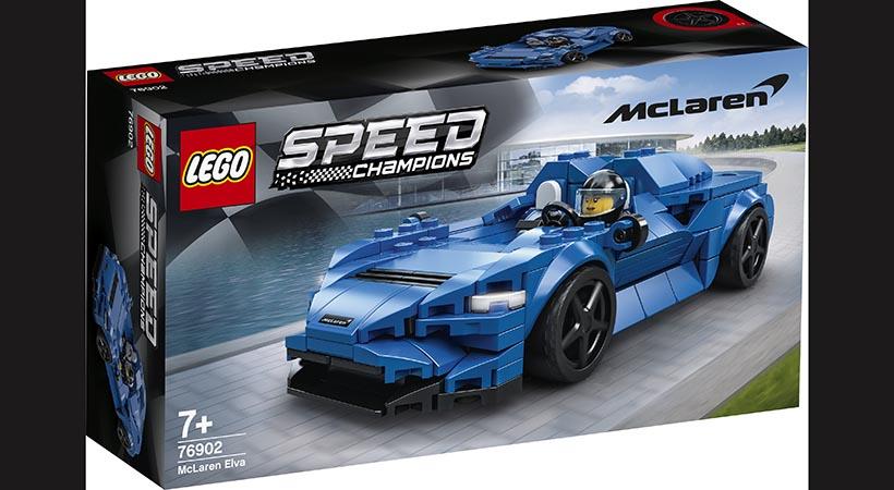 McLaren Elva Lego Speed Champions